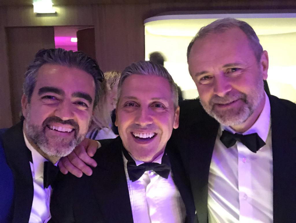 Andrea, Federico e Frank Bonnet